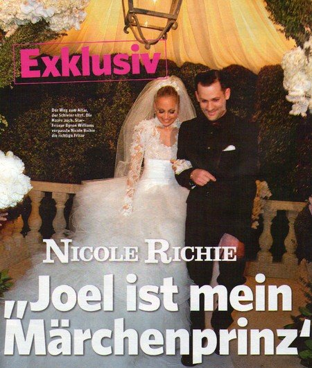 Nicole Richie Wedding