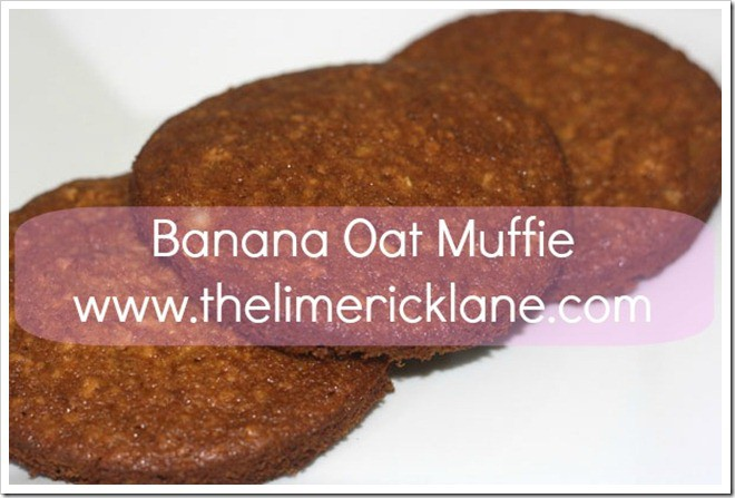 Banana Oat Muffin Recipe