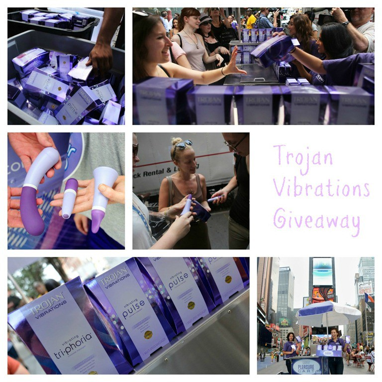 NYC Trojan Vibrations Free Vibrator Give Away