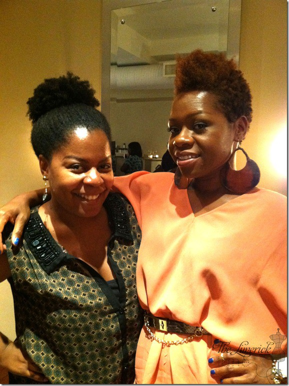 The Limerick Lane and curlBox founder Myleik at Ready to Hair event