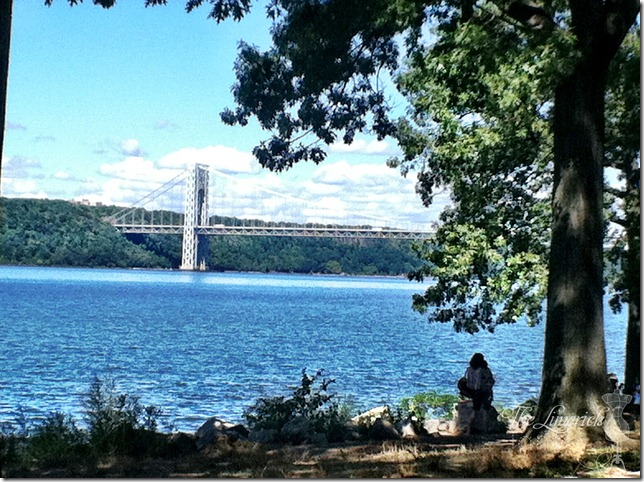 View of the GWB from Greenway