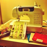 Sewing on a Friday night
