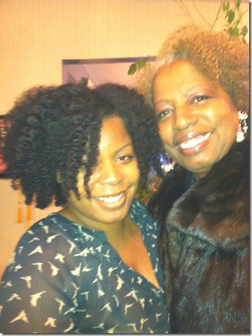 Me and mom at xmas
