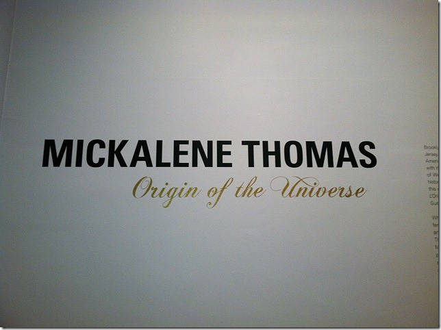 Mickalene Thomas at BK Museum