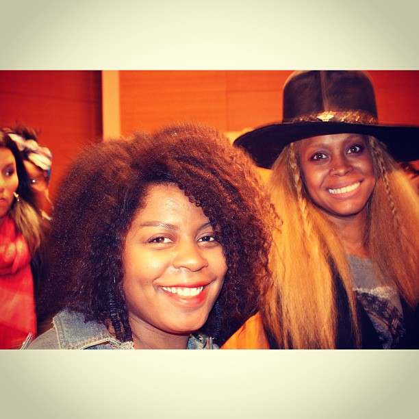 I look CRAZY! But I got to breathe the same air as Erykah Badu and listen to her wisdom at the Red Bull Music Academy event at the Brooklyn Museum. She was dope! #thelimericklaneblog
