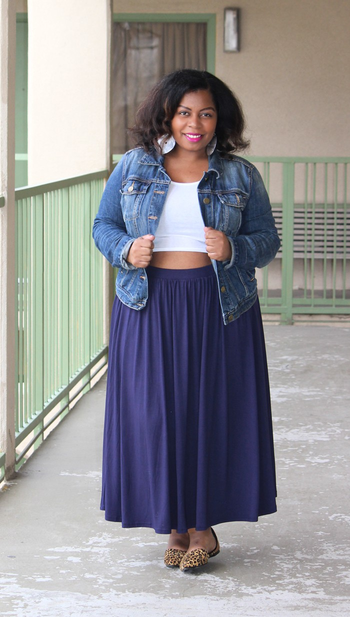 how-to-wear-a-crop-top-for-plus-size-maxi-skirt