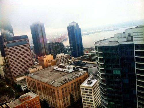view from westin seattle