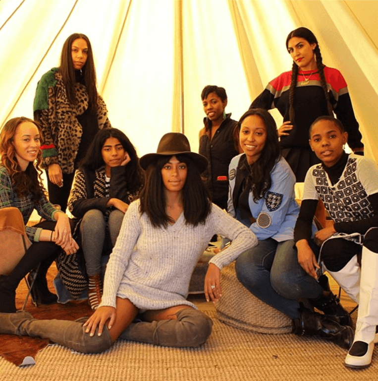 Solange Knowles' Glamping Trip Joshua Tree National Park
