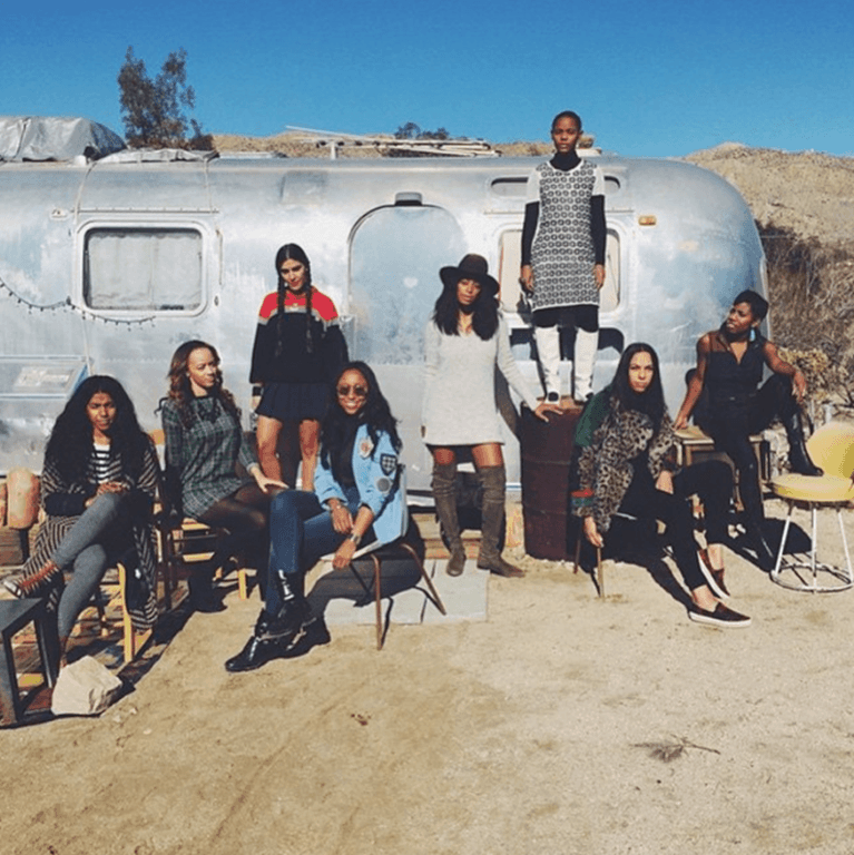 Solange Knowles' Glamping Trip This New Year's
