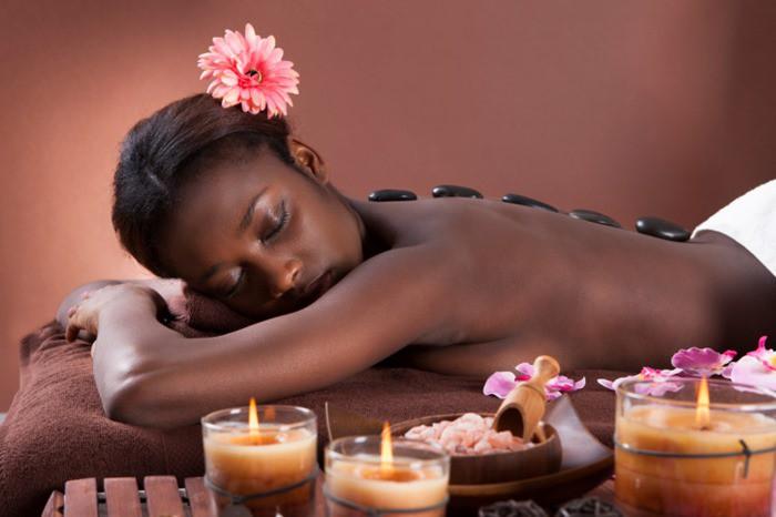 black-woman-getting-massage