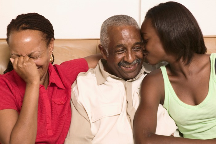 black-woman-talking-to-parents