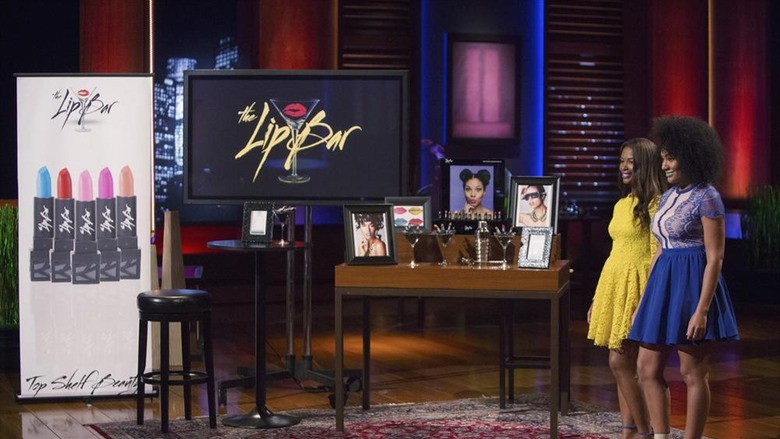 The Lip Bar on Shark Tank.