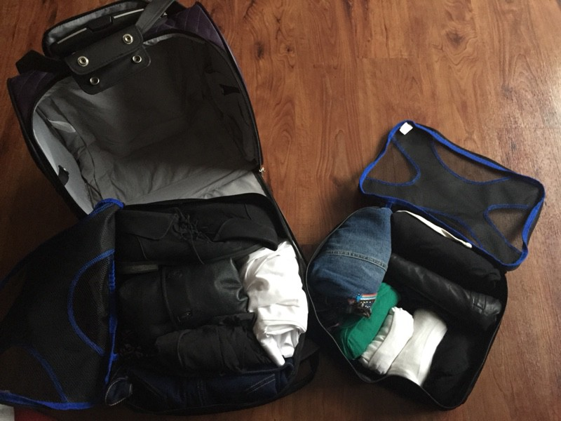 How To Travel Light With Shacke Pak Packing Cubes The
