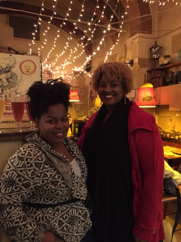 Black girls in Tuscany Florence Italy