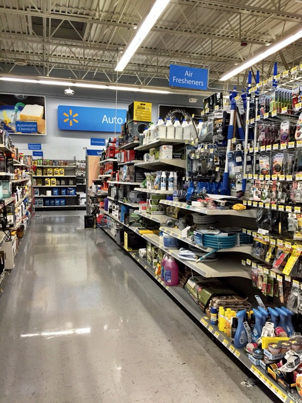 Walmart Automotive Aisle